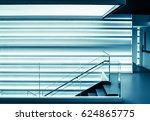 modern glass staircase | Shutterstock . vector #624865775