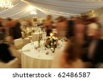 many people at a wedding... | Shutterstock . vector #62486587