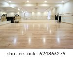 interior of a sport and dancing ...   Shutterstock . vector #624866279