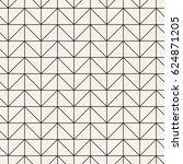 vector seamless pattern. modern ... | Shutterstock .eps vector #624871205
