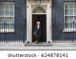 Small photo of LONDON, UK - Apr 10, 2017: Prime Minister of the United Kingdom Theresa May during an official meeting with the President of Ukraine Petro Poroshenko at 10 Downing Street in London