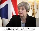 london  uk   apr 10  2017 ... | Shutterstock . vector #624878189