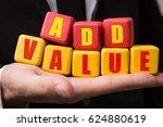 add value | Shutterstock . vector #624880619