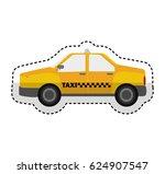 taxi service public icon | Shutterstock .eps vector #624907547