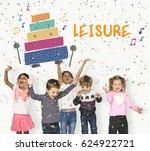 children early education... | Shutterstock . vector #624922721