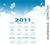 Vector Template With 2011 Year...
