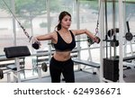 women sports   beautiful young ... | Shutterstock . vector #624936671