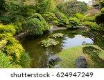 garden | Shutterstock . vector #624947249