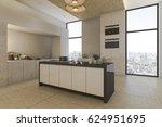 3d rendering nice city view... | Shutterstock . vector #624951695