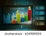 3d rendering global currencies... | Shutterstock . vector #624989054