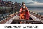 portrait of sadhu baba nondo... | Shutterstock . vector #625000931