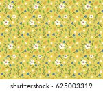 elegant  bright and seamless... | Shutterstock .eps vector #625003319
