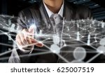 networking technologies and... | Shutterstock . vector #625007519