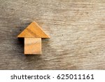 wooden tangram puzzle in home... | Shutterstock . vector #625011161