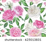 seamless floral pattern with... | Shutterstock . vector #625013831
