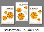 set of vector cover design... | Shutterstock .eps vector #625024721