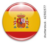 button fahne flagge spanien | Shutterstock . vector #62502577