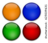 colorful icons  buttons | Shutterstock . vector #625039631