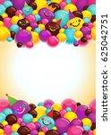 vector background frame for a... | Shutterstock .eps vector #625042751