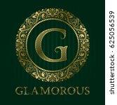 golden logo template for... | Shutterstock .eps vector #625056539