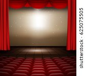 vector festive design with... | Shutterstock .eps vector #625075505