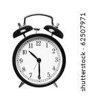 alarm clock shows half past ten ... | Shutterstock . vector #62507971