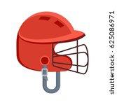 baseball equipment. batting... | Shutterstock .eps vector #625086971