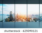 manhattan office city view | Shutterstock . vector #625090121