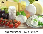 Cheese Varieties With Fresh...