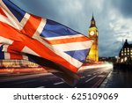 Union Jack Flag And Iconic Big...