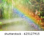 while it is raining and there... | Shutterstock . vector #625127915