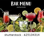 Bar Menu  Seamless Cocktails...