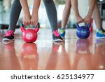 fit people working out in...   Shutterstock . vector #625134977