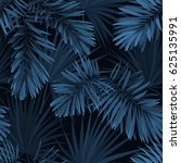 blue indigo summer tropical... | Shutterstock . vector #625135991