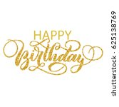 Happy Birthday Hand Lettering...