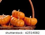 Small Orange Pumpkins...