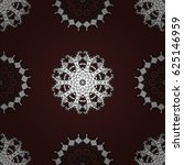 paisleys elegant floral vector... | Shutterstock .eps vector #625146959