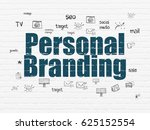 advertising concept  painted...   Shutterstock . vector #625152554