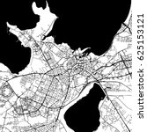 tallinn estonia vector map... | Shutterstock .eps vector #625153121
