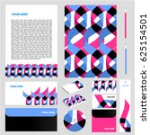 corporate identity set | Shutterstock .eps vector #625154501
