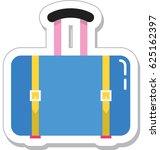suitcase vector icon   Shutterstock .eps vector #625162397