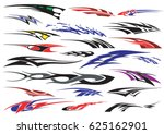 car bike vehicle graphics ... | Shutterstock .eps vector #625162901