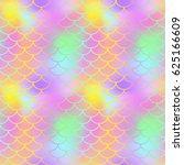 fantastic fish skin seamless... | Shutterstock .eps vector #625166609