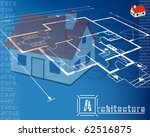 architectural background.... | Shutterstock .eps vector #62516875