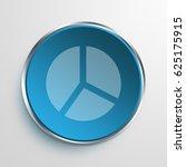 blue sign pie chart symbol icon ...