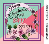 vector illustration of a sale... | Shutterstock .eps vector #625185509