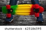 skateboard closeup.extreme... | Shutterstock . vector #625186595