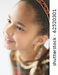 young african american girl... | Shutterstock . vector #62520301