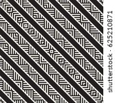 stylish lines maze lattice.... | Shutterstock .eps vector #625210871