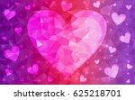 light pink vector abstract... | Shutterstock .eps vector #625218701